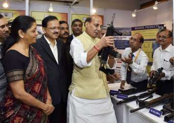 Home Minister Rajnath Singh and Defence Minister...