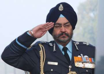 Indian Air Force Chief BS Dhanoa - India TV