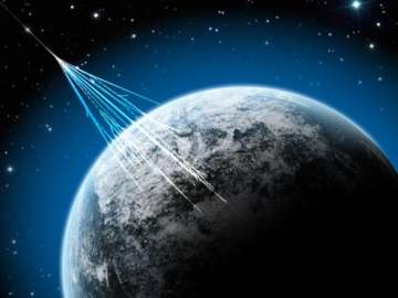 High-energy cosmic rays hitting Earth - India TV