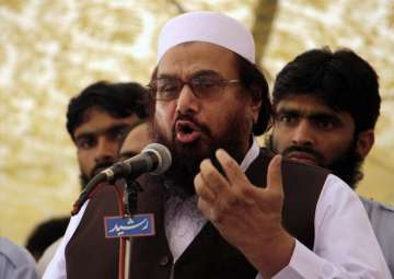 File pic of Pakistani terrorist Hafiz Saeed -...