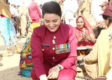 File pic of Honeypreet - India TV