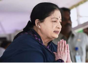 File pic of Jayalalithaa - India TV