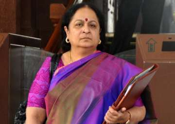 File pic of former Union minister Jayanthi...