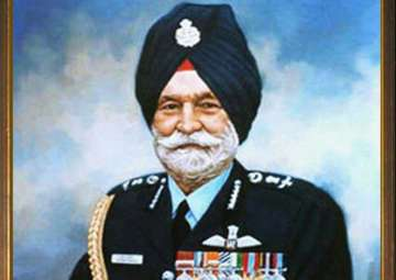 Marshal of Indian Air Force Arjan Singh - India TV