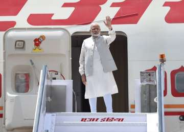 PM Modi leaves on a five-day visit to China,...
