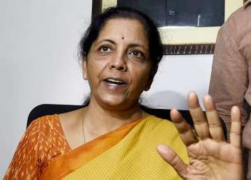Newly appointed Defence Minister Nirmala...