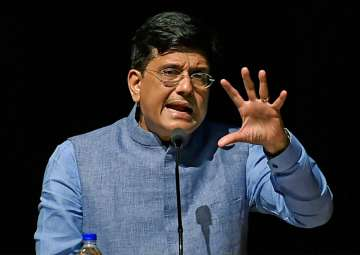 Piyush Goyal speaks at the Indian Institute of...