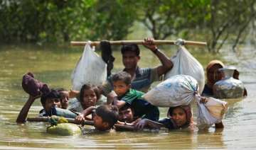 UN estimates suggest that 370,000 Rohingya...