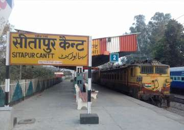 File pic of Sitapur Cantt station - India TV