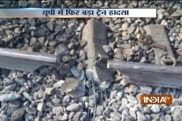 Damaged tracks are believed to be behind the...