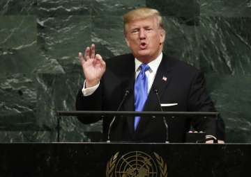 Donald Trump at UN General Assembly - India TV