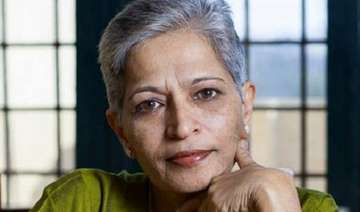 Lankesh was shot dead at her Bengaluru home on...