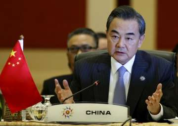 File pic of Chinese Foreign Minister Wang Yi -...