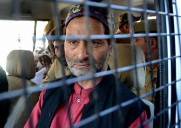 Separatist leader Yasin Malik arrested in...
