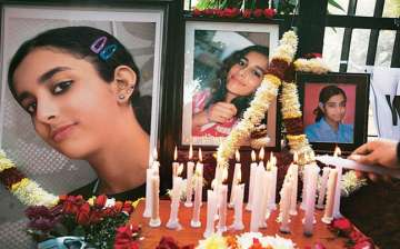 Aarushi, 14, was found dead inside her room at...