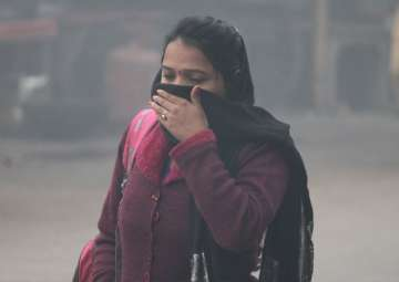 File pic - Air pollution intensifies in...