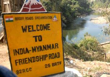 File pic - India opens two border crossing points...