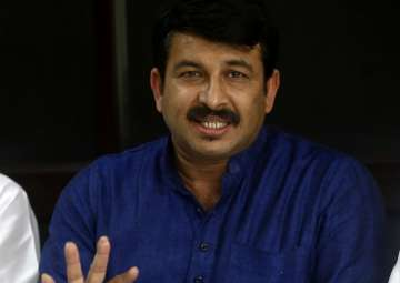 Delhi BJP chief Manoj Tiwari - India TV