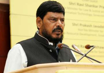 File pic of Ramdas Athawale - India TV