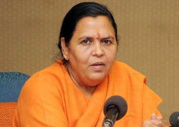 File pic of Union Minister Uma Bharti - India TV