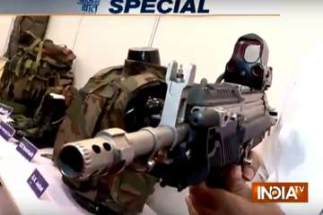 Security forces in Kashmir get high-tech weapons...