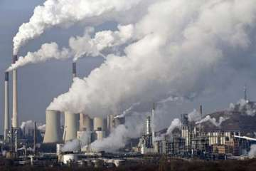 Since 1992, annual carbon dioxide emissions have...