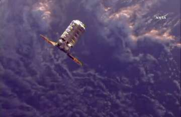 Space delivery: Astronauts get ice cream,...