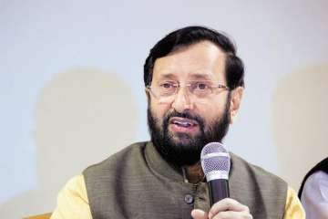 Union HRD Minister Prakash Javadekar - India TV
