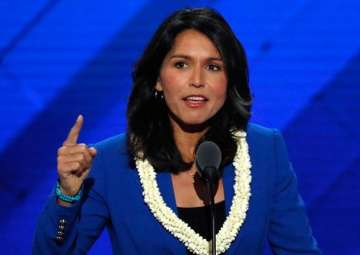 US Congresswoman Tulsi Gabbard named chairperson...