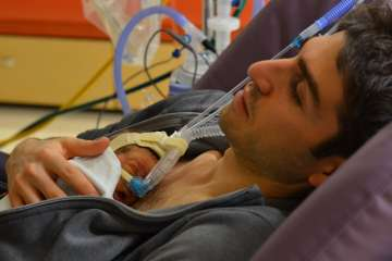 Fathers of premature babies more stressed than...
