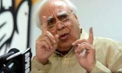 File pic of Kapil Sibal