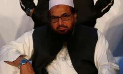 File pic of JuD terrorist Hafiz Saeed