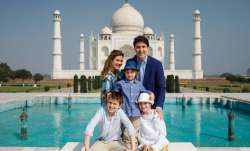 Canadian PM Justin Trudeau visits Taj Mahal