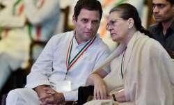 Congress plenary session: BJP slams Sonia, Rahul speeches