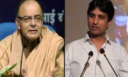Arun Jaitley accepts Kumar Vishwas' apology, withdraws