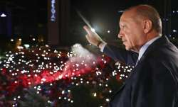 With 99.2 percent of ballots counted, Erdogan received more