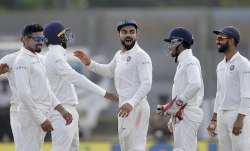 A file image of the Indian Test team
