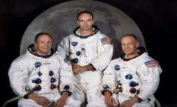 Neil Armstrong, Michael Collins and Edwin Aldrin