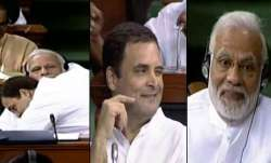 Tweets and jokes went viral after Rahul Gandhi dramatic act