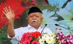 In his Vijaydashmi address before the Lok Sabha elections,