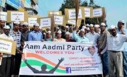 BJPleaderRampalJat joined theAamAadmiParty (AAP)