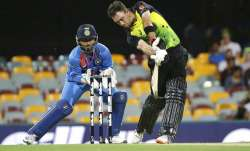 India vs Australia, 1st T20I in Brisbane: Rain stops play