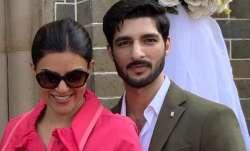 Sushmita Sen's boyfriend Rohman Shawl accompanied his