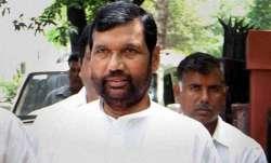 Lok Janshakti Party president Ram Vilas Paswan
