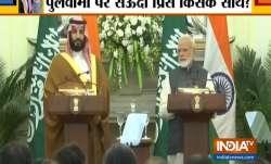 PM Modi with Saudi Crown Prince