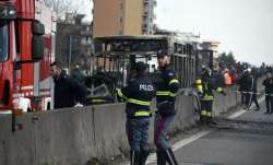 Italy: Bus driver abducts 51 children, sets vehicle on fire