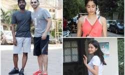 Varun Dhawan, Remo D'Souza, Janhvi Kapoor and Ananya