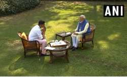 The snippets of the 'informal interview' of Prime Minister