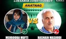 Anantnag Lok Sabha constituency key candidates