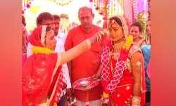 A wedding procession in Gujarat